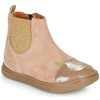Pantofi Fete Ghete GBB JESSINE Bej