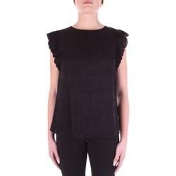 Îmbracaminte Femei Topuri și Bluze Versace B0HWA631-09475 Nero