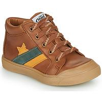 Pantofi Băieți Pantofi sport stil gheata GBB LEON Maro