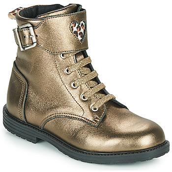 Pantofi Fete Pantofi sport stil gheata GBB DOZZY Auriu