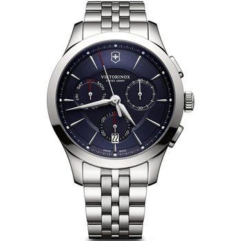 Ceasuri & Bijuterii Bărbați Ceasuri Analogice Victorinox 241746, Quartz, 44mm, 10ATM Argintiu