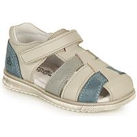 Pantofi Băieți Sandale  Citrouille et Compagnie FRINOUI Gri