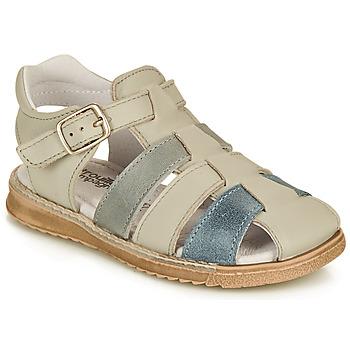 Pantofi Băieți Sandale  Citrouille et Compagnie ZIDOU Gri