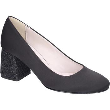Pantofi Femei Pantofi cu toc Olga Rubini Decollete Raso Nero