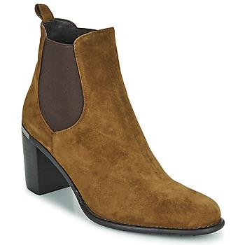 Pantofi Femei Botine Adige FANNY V1 CHEV VEL NOIX Maro