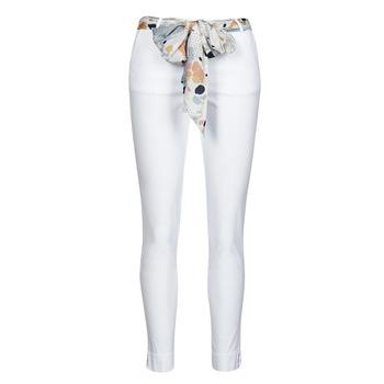 Îmbracaminte Femei Pantalon 5 buzunare Betty London OUMA Alb