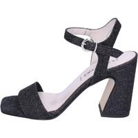 Pantofi Femei Sandale  Olga Rubini Sandali Glitter Nero