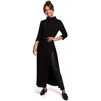 Îmbracaminte Femei Tunici Be B163 Tunică cu croială înaltă - negru