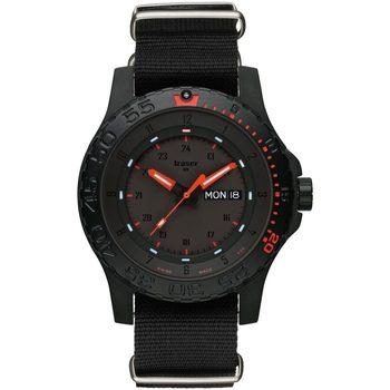 Ceasuri & Bijuterii Bărbați Ceasuri Analogice Traser H3 104147, Quartz, 45mm, 20ATM Negru