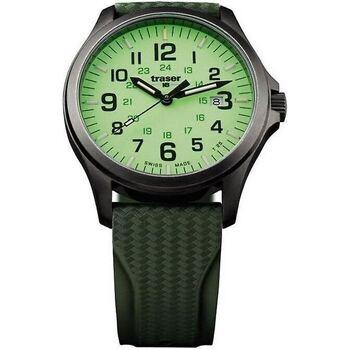 Ceasuri & Bijuterii Bărbați Ceasuri Analogice Traser H3 107424, Quartz, 42mm, 10ATM Negru