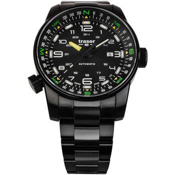 Ceasuri & Bijuterii Bărbați Ceasuri Analogice Traser H3 109522, Automatic, 46mm, 10ATM Negru