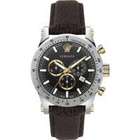 Ceasuri & Bijuterii Bărbați Ceasuri Analogice Versace VEV800119, Quartz, 44mm, 5ATM Argintiu