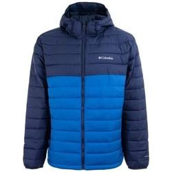 Îmbracaminte Bărbați Geci Columbia A Powder Lite Hooded Jacket Albastre, Albastru marim