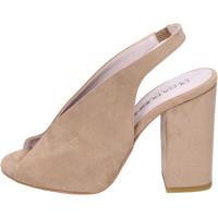 Pantofi Femei Sandale  Olga Rubini Sandale BJ430 Bej