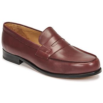 Pantofi Bărbați Mocasini Pellet Colbert Roșu