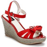 Pantofi Femei Sandale  C.Petula SUMMER Roșu