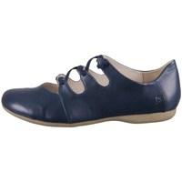 Pantofi Femei Balerin și Balerini cu curea Josef Seibel Fiona 04 Albastre