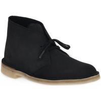 Pantofi Bărbați Cizme Clarks DESERT BOOT INK Blu