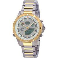 Ceasuri & Bijuterii Bărbați Ceasuri Analogice Ett Eco Tech Time EGT-11358-55M, Quartz, 44mm, 5ATM Gri