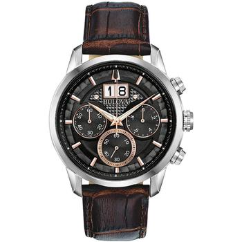 Ceasuri & Bijuterii Bărbați Ceasuri Analogice Bulova 96B311, Quartz, 44mm, 3ATM Argintiu