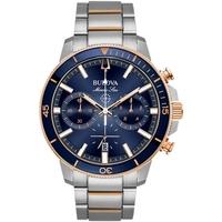 Ceasuri & Bijuterii Bărbați Ceasuri Analogice Bulova 98B301, Quartz, 45mm, 20ATM Argintiu