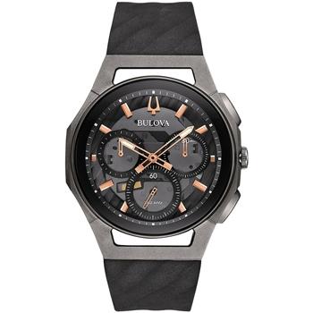 Ceasuri & Bijuterii Bărbați Ceasuri Analogice Bulova 98A162, Quartz, 44mm, 3ATM Gri
