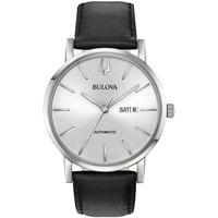 Ceasuri & Bijuterii Bărbați Ceasuri Analogice Bulova 96C130, Automatic, 42mm, 3ATM Argintiu