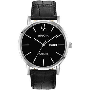 Ceasuri & Bijuterii Bărbați Ceasuri Analogice Bulova 96C131, Automatic, 42mm, 3ATM Argintiu