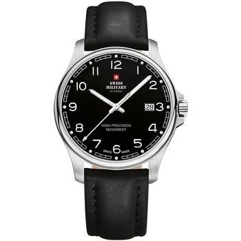 Ceasuri & Bijuterii Bărbați Ceasuri Analogice Swiss Military By Chrono SM30200.24, Quartz, 39mm, 5ATM Argintiu