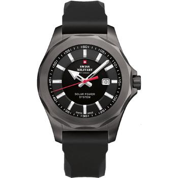 Ceasuri & Bijuterii Bărbați Ceasuri Analogice Swiss Military By Chrono SMS34073.07, Quartz, 42mm, 10ATM Argintiu