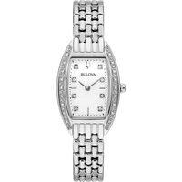 Ceasuri & Bijuterii Femei Ceasuri Analogice Bulova 96R244, Quartz, 24mm, 3ATM Argintiu