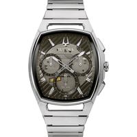 Ceasuri & Bijuterii Bărbați Ceasuri Analogice Bulova 96A257, Quartz, 41mm, 3ATM Argintiu