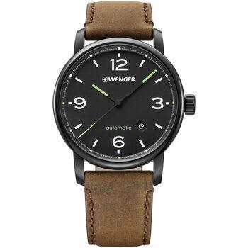 Ceasuri & Bijuterii Bărbați Ceasuri Analogice Wenger 01.1746.102, Automatic, 45mm, 10ATM Argintiu