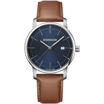 Ceasuri & Bijuterii Bărbați Ceasuri Analogice Wenger 01.1741.111, Quartz, 44mm, 10ATM Argintiu
