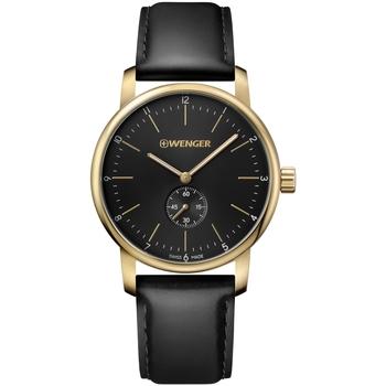 Ceasuri & Bijuterii Bărbați Ceasuri Analogice Wenger 01.1741.101, Quartz, 44mm, 10ATM Auriu