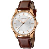 Ceasuri & Bijuterii Bărbați Ceasuri Analogice Wenger 01.1441.107, Quartz, 43mm, 3ATM Auriu