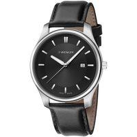Ceasuri & Bijuterii Bărbați Ceasuri Analogice Wenger 01.1441.101, Quartz, 43mm, 3ATM Argintiu