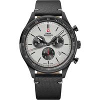 Ceasuri & Bijuterii Bărbați Ceasuri Analogice Swiss Military By Chrono SM34081.11, Quartz, 42mm, 10ATM Negru