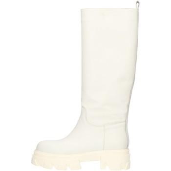 Pantofi Femei Cizme casual Made In Italia CAPITAL01 White