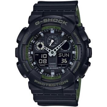 Ceasuri & Bijuterii Bărbați Ceasuri Analogice Casio GA-100L-1AER, Quartz, 51mm, 20ATM Negru