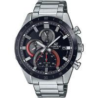 Ceasuri & Bijuterii Bărbați Ceasuri Analogice Casio EFR-571DB-1A1VUEF, Quartz, 47mm, 10ATM Argintiu