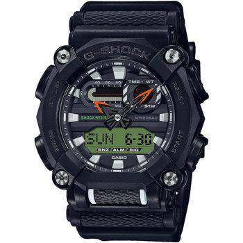 Ceasuri & Bijuterii Bărbați Cesuri Analogic- digital Casio GA-900E-1A3ER, Quartz, 49mm, 20ATM Negru