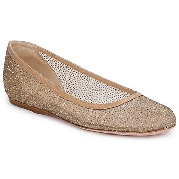 Pantofi Femei Balerin și Balerini cu curea Sebastian GLIME Bej