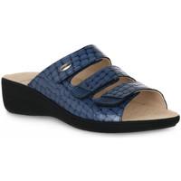 Pantofi Femei Papuci de vară Grunland JEANS 68ESTA Blu