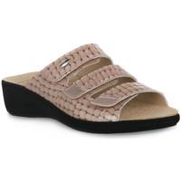 Pantofi Femei Papuci de vară Grunland TAUPE 68ESTA Marrone