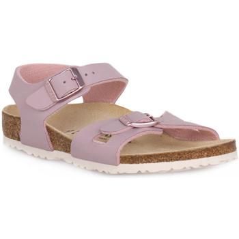Pantofi Copii Sandale  Birkenstock RIO LAVENDER BLUSH CALZ S Grigio