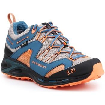 Pantofi Bărbați Drumetie și trekking Garmont 9.81 Trail Pro III GTX 481221-211 blue, orange, grey