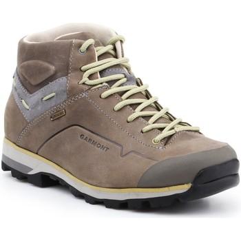 Pantofi Femei Drumetie și trekking Garmont Germont Miguasha Nubuck GTX A.G. W 481249-612 brown, grey