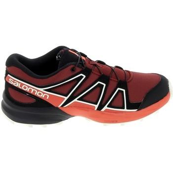 Pantofi Copii Pantofi sport Casual Salomon Speedcross K Rouge Noir roșu