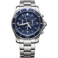 Ceasuri & Bijuterii Bărbați Ceasuri Analogice Victorinox 241689, Quartz, 43mm, 10ATM Argintiu